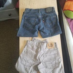 Set of Boys Levi Jeans